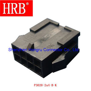 3.0 Plug Housing Terminal Connector with 8 Poles pictures & photos