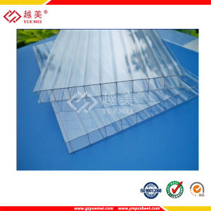 Ten Years Guarantee Triple Wall Polycarbonate Sheet for Greenhouse Material pictures & photos