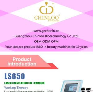 RF Vacuum Radio Frequency 40kHz Laser Cavitation Machine (LS650) pictures & photos