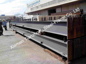 Painted Prefabricated Steel Structure Workshop pictures & photos