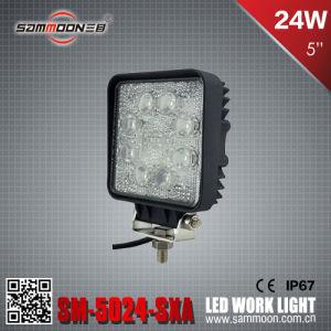 5 Inch 24W Aluminum Cover LED Work Light (SM-5024-SXA)