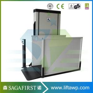 Hydraulic Wheelchair Lift Platform/Vertical Elevator for The Disabled /Vertical Wheelchair Lifts pictures & photos