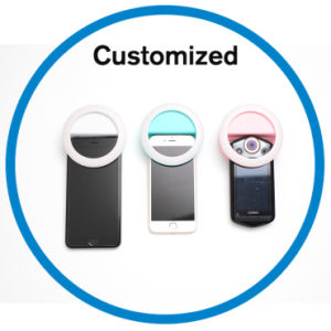 Rechargeable Selfie Ring Fill Light pictures & photos