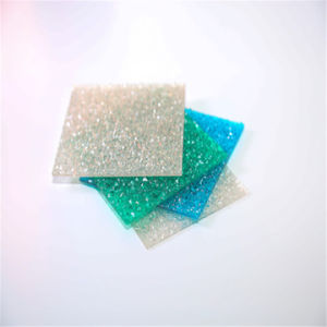 6mm Polycarbonate Embossed Sheet with High Light Transparany