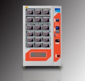 Refrigerated Vending Machines for Eggs with Elevator pictures & photos