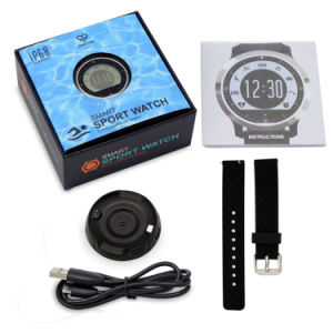 Gelbert New Bluetooth Pedometer Heart Rate Sport Smart Watch pictures & photos