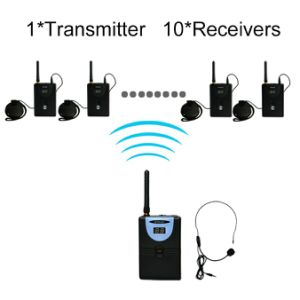 2.4G Wireless Tour Guide System pictures & photos