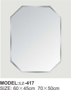 Diamond Bathroom Sliver Mirror (LZ-417) pictures & photos