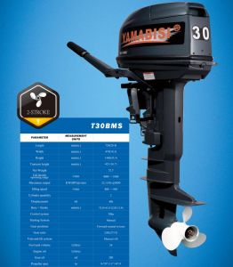 High Quality Boat Motors Outboard Cheap 2-Stroke 30HP Outboard Motor pictures & photos