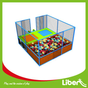 Liben Play Small Square Trampoline with Safety Enclosure for Kids pictures & photos