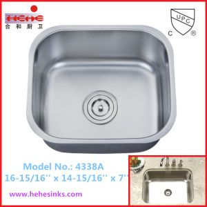 Undermount Kitchen Sink, Bar Sink, Stainless Steel Sink (4338) pictures & photos