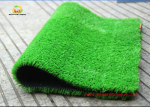Good Price 10mm Fibrillate Yarn Artificial Grass for Landscaping pictures & photos