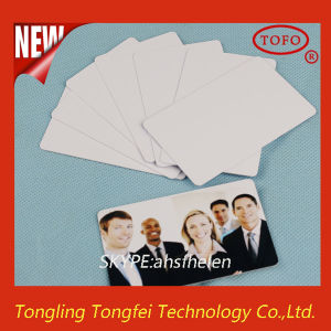 L1800 Inkjet PVC ID White Plastic Card in China pictures & photos