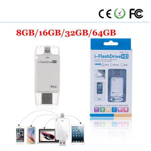 16/32/64GB OTG USB Memory Stick U Disk for iPhone pictures & photos