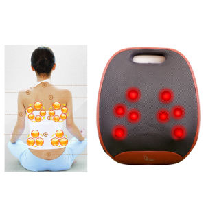 Massage Cushion Shiatsu Kneading Heating Massager pictures & photos