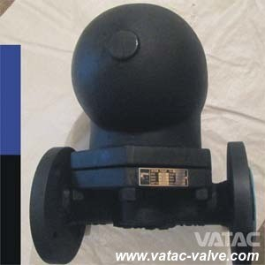 Asme B16.34 Wcb/CF8/CF8m RF/Bw/NPT/Sw Ball Floating Steam Trap pictures & photos