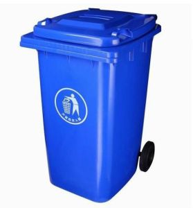 240lt Blue Plastic Dustbin Injected pictures & photos