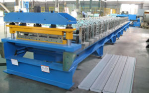 High Efficiency Trapezoidal Roof Panel Roll Forming Machine pictures & photos