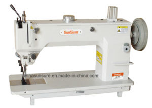 Long Arm Drum-Type Flat for Extremely Thick Material Seaming Sewing Machine pictures & photos