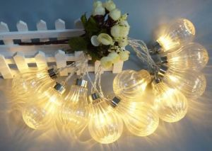 New LED String Light with Ball-Shaped Decoration, Christmas Light pictures & photos