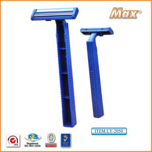 Twin Stainless Steel Blade Disposable Razor Fro Man (LY-2054) pictures & photos