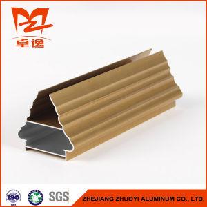 Golden Color Aluminum Profile for Art Door pictures & photos