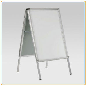 A1 Double Sided Pavement Poster Stand pictures & photos