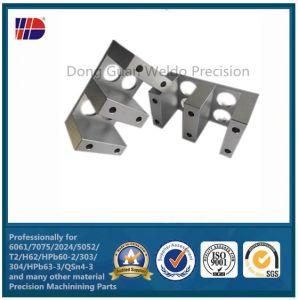 Clear Anodized CNC Aluminum Sheet Metal Parts pictures & photos