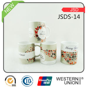 Christmas Gift Promotional Ceramic Mug with Decal pictures & photos