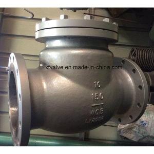 ANSI Standard Carbon Steel Wcb Flange Check Valve pictures & photos