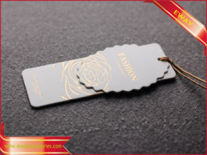 Luxury Design Hangtag Hang Tag Garment Tag pictures & photos