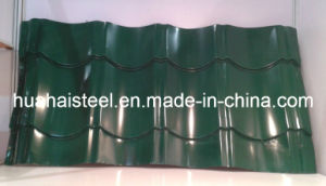 High Quality Profiled Color Coated Roofing Steel Sheets pictures & photos