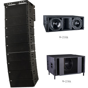 Dual 10 Inch Big Speaker System for Hall P Audio pictures & photos