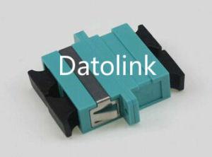 Aqua Sc mm Duplex Fiber Optical Adapter pictures & photos