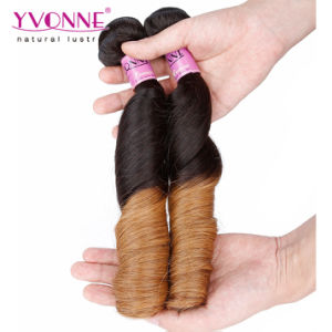 New Arrival Spring Curl Brazilian Ombre Human Hair Extension pictures & photos