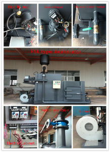 Mini Mobile Solid Medical and Animal Waste Incinerators pictures & photos
