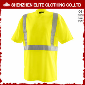 Hi Vis Fluorescent Yellow Work T-Shirts pictures & photos