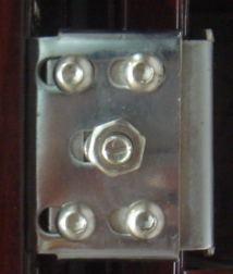 New Design Two Colors Steel Door (RA-S019) pictures & photos