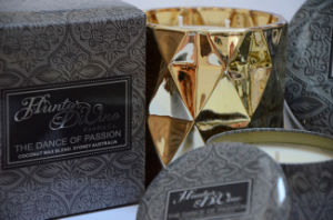 Handmade Soy Luxury Big Tin Candle with Metal Lid pictures & photos