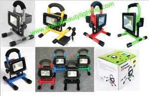 Portable Floodlight AC85-265V 10W Rechargeable LED Floodlight pictures & photos