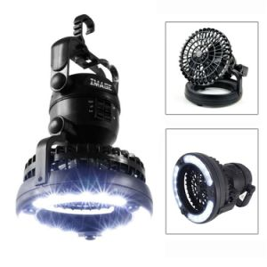 Portable Combination LED Lamp Camping Light Lantern with Ceiling Fan pictures & photos