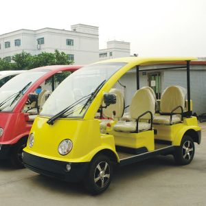 Approved 4/5 Passengers Electric Sightseeing Mini Bus (DN-4/5) pictures & photos