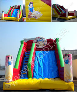 Inflatable Water Slide with Pool (water pool slide, wave slide) , Castle Water Slider B4129 pictures & photos