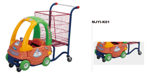 Foldable Metal Wire Logistics Carts Trolley pictures & photos