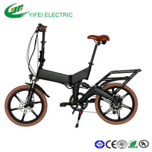 High Speed Electric Foldable Bicycle En15194 Approved pictures & photos