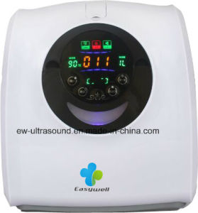Home Use Health Care Oxygen Concentrator Generator Ew-50A Home Travel Car Oxygen Generator Black Color