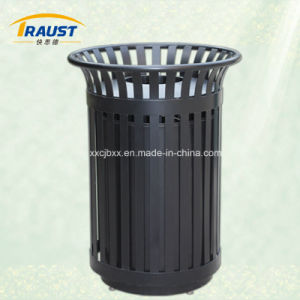 High Quality Outdoor Metal Trash Can pictures & photos