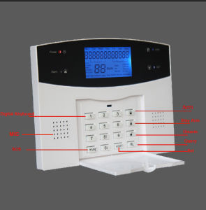Home Wireless Intruder Security GSM PSTN Dual Network Burglar Touch Keypad Alarm System Alarm with APP Control and Spanish/Russia/French Voice pictures & photos