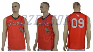 Dry Fit Fabric Sportswear Team Wear Logo Design Basketball Uniform pictures & photos