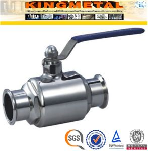 3A 2 PC Ss304 Stainless Steel Sanitary Valves pictures & photos
